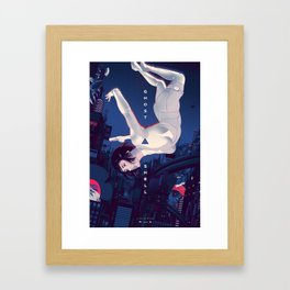The Ghost In The Shell Framed Art Print