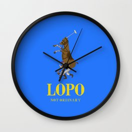 Lopo by Nøt Ordinary Wall Clock
