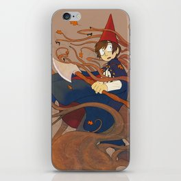 Over the Garden Wall - Wirt iPhone Skin