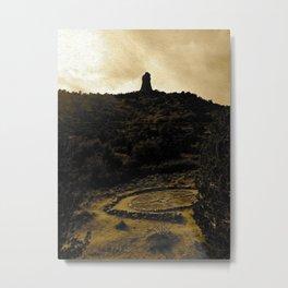 Amitabha Stupa - Sedona, Arizona Metal Print