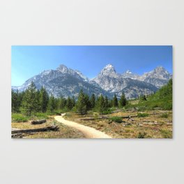 Ghost Mountains Canvas Print