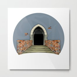 The Gate to Whatever Metal Print