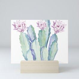 Cactus in Love Mini Art Print