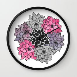 The Succulent Wall Clock