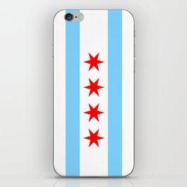 Chicago Flag iPhone Skin