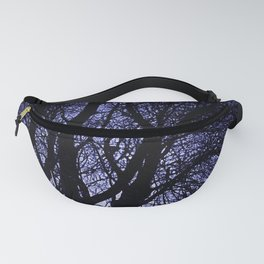 Barren Tree Branches Fanny Pack