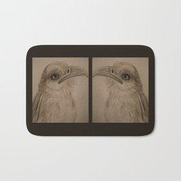 The Secretary Bird Double Up Bath Mat