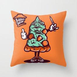 Jabba The Hutt Throw Pillow