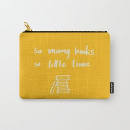 So Many Books. So Carry-All Pouch