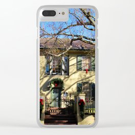 Ready For The Holidays Clear iPhone Case