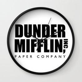 Dunder Mifflin Wall Clock
