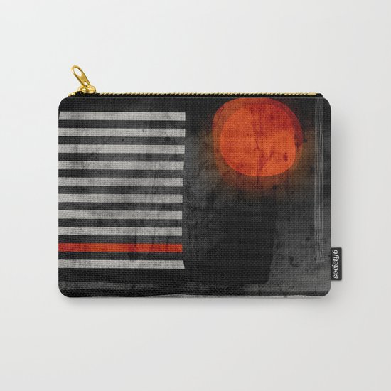 orange wants to be black Carry-All Pouch
