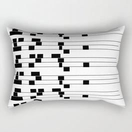 ASCII All Over 06051315 Rectangular Pillow