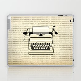 All work and no play II Laptop & iPad Skin