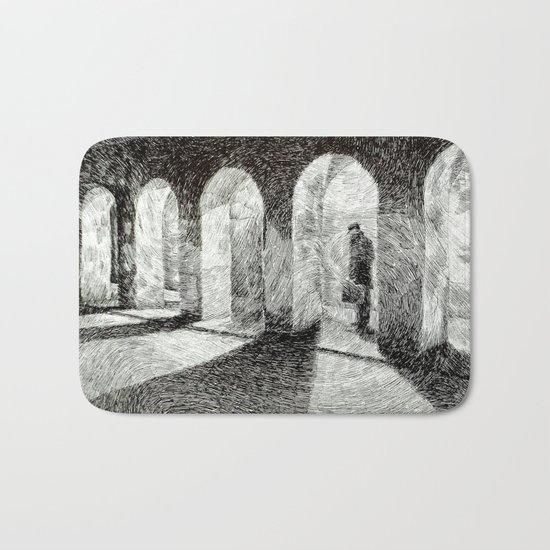 Fingerprint - Arcades Bath Mat
