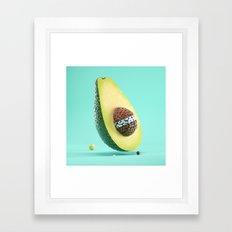 Brainocado Framed Art Print
