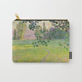 "Claude Monet ""Paysage de matin"" (1888) Carry-All Pouch"