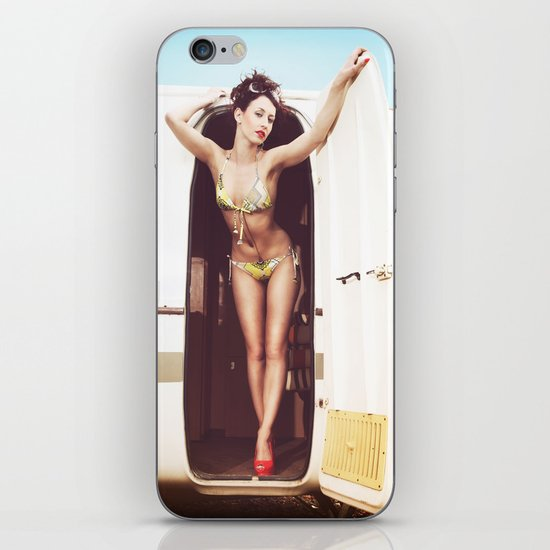 trailer park girl iPhone & iPod Skin