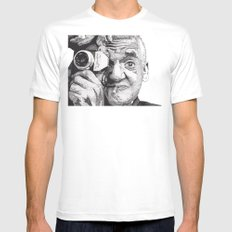 Weegee X-LARGE White Mens Fitted Tee