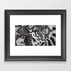 Domesticated (Afternoon in the Garden) Framed Art Print
