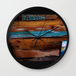 Peace of Wood Wall Clock
