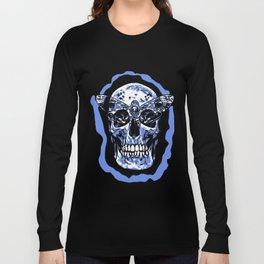 Moth Skull Long Sleeve T-shirt
