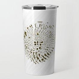 Minimal Nature -  Echinacea Yellow Travel Mug