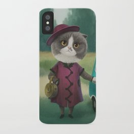 Where are you going kitty? iPhone Case