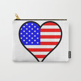 Love America Carry-All Pouch
