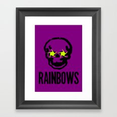 rainbows Framed Art Print