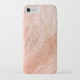 Polished Rose Gold Marble iPhone Case