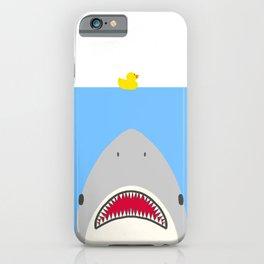 J-A-W-S iPhone Case