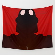 Iron Red Wall Tapestry