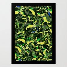 Spring fell Art Print