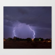 Lovington Lightning Canvas Print