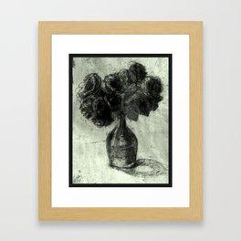 Bouquet of Flowers Framed Art Print