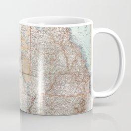 Australian Topography Map (1911) Coffee Mug