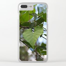 In the Footsteps of Hope Clear iPhone Case