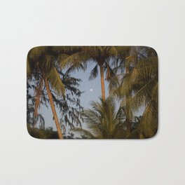 palm night in Thailand Bath Mat