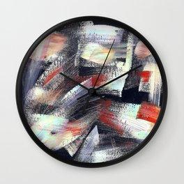 Abs multicolor 4567 Wall Clock