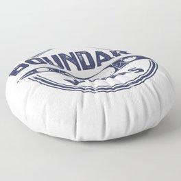 Boundary Waters Floor Pillow