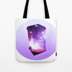 All of time and space - The Tardis Tote Bag