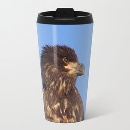 Golden Eagle on the Kenai Travel Mug