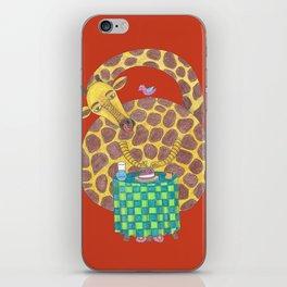 Carmeline, la Girafe iPhone Skin