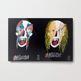 HOODLUMS Metal Print