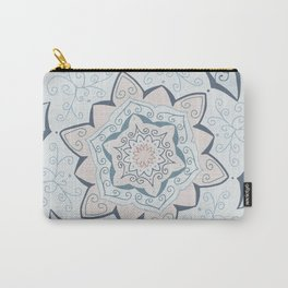 Jin Blue Mandala Carry-All Pouch
