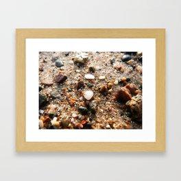 Grains of sand Framed Art Print