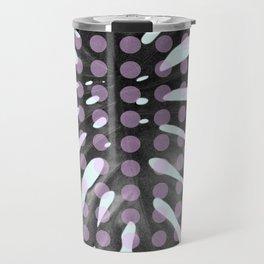 Monstera Dots Travel Mug