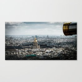 Spying on Paris Canvas Print