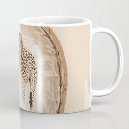 Precious Love Giraffe and Flamingo Watercolor Painting , Unlikely Lovers Hope Coffee Mug